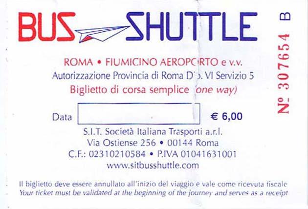 ローマのフィウミチーノ空港