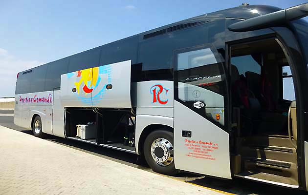 パレルモ・ファルコーネ・ボルセリーノ空港のシャトルバス