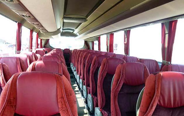 パレルモのシャトルバス