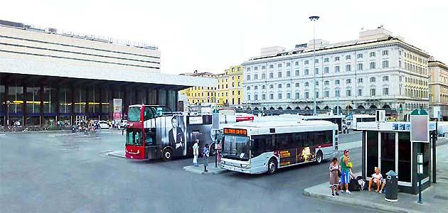 ローマ テルミニ バスターミナル