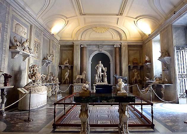 ヴァティカン美術館のピオ・クレメンティーノ