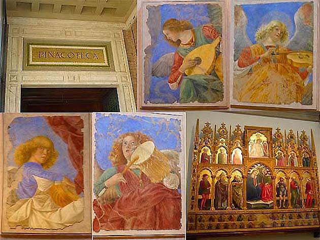 ヴァティカン美術館の絵画館