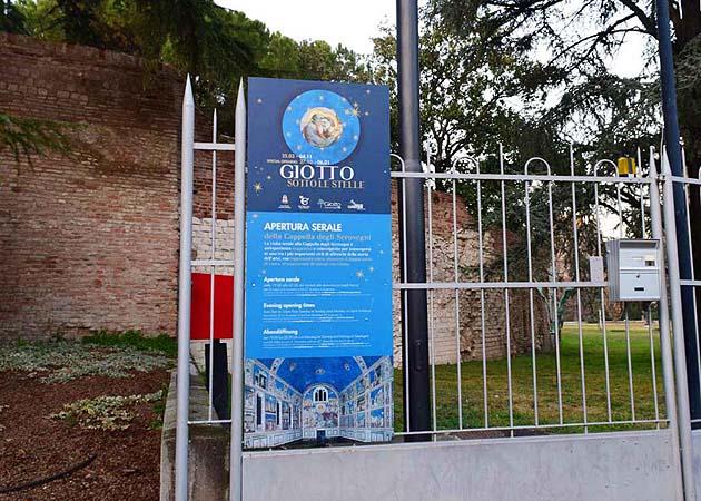スクロヴェーニ礼拝堂 パドヴァ