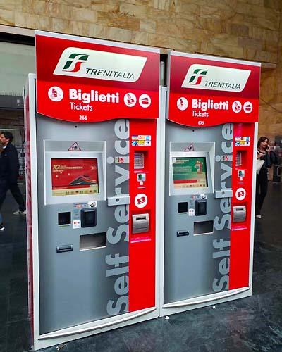 イタリアの列車のチケット購入方法
