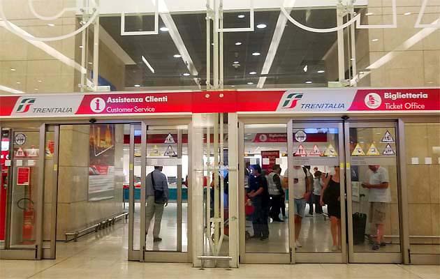 ミラノ中央駅のチケット売場と購入方法