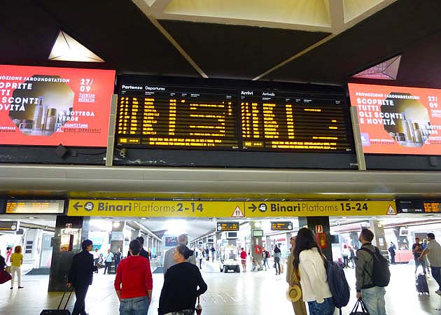 ナポリ中央駅
