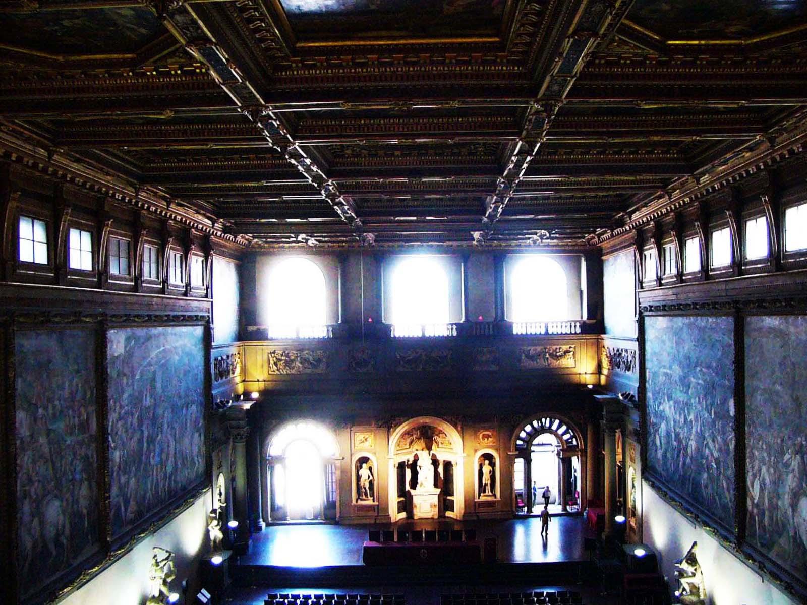 ヴェッキオ宮殿・フィレンツェ