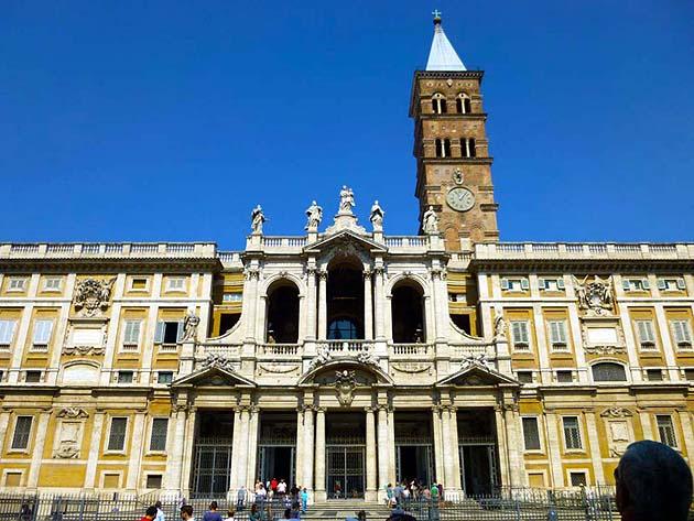 サンタ・マリア・マッジョーレ大聖堂・ローマ