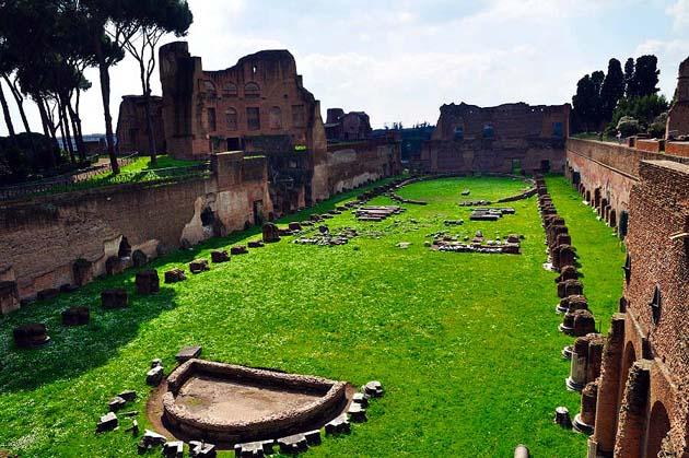 パラティーノの丘・ローマ