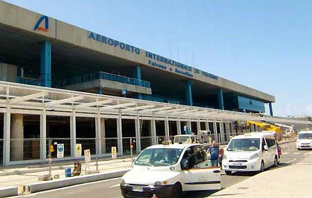 パレルモの空港ファルコーネ・ボルセリーノ