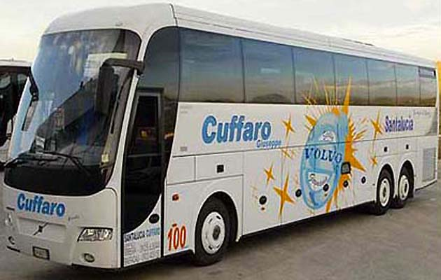 バスでパレルモからアグリジェントへアクセス イタリア