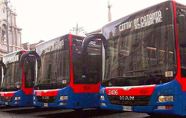 フォンタナ・ロッサ空港のバス