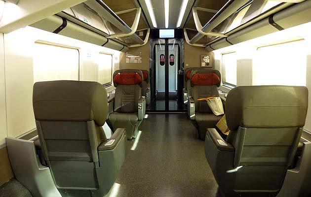 イタリア高速列車フレッチャロッサ