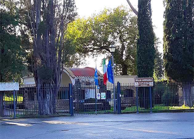 ティヴォリのヴィッラ・アドリアーナへアクセス