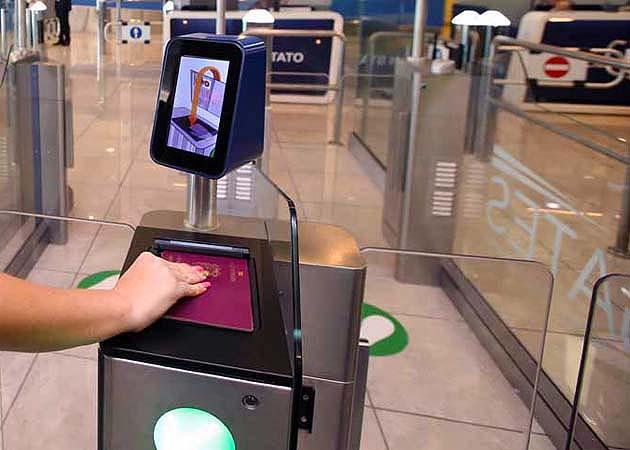 ミラノ・マルペンサ空港 SmartPass入国審査