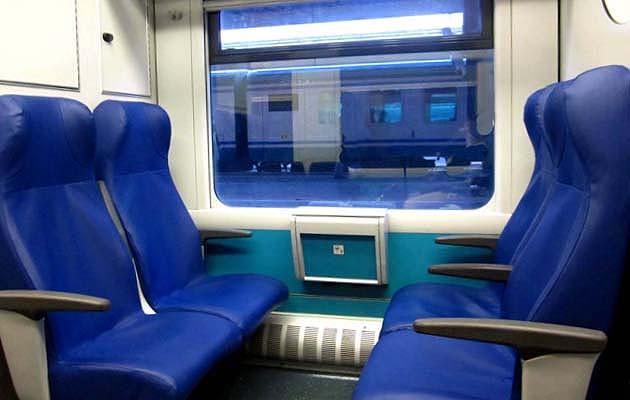 フィウミチーノ空港の列車