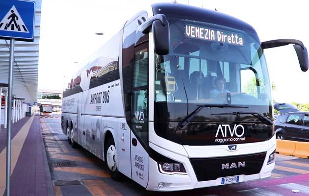 ヴェネツィア空港行きバス