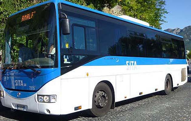 アマルフィからラヴェッロ行きバスの乗車方法