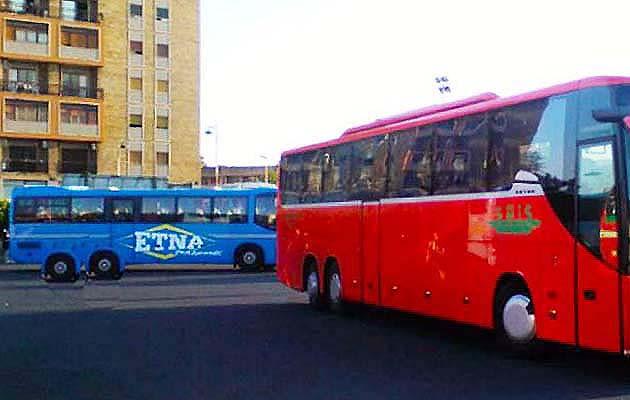バスでカターニアからタオルミーナへアクセス