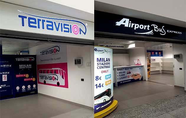 マルペンサ空港からミラノ市内へアクセス