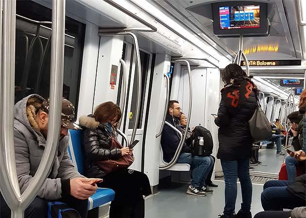 地下鉄ローマ・テルミニ駅