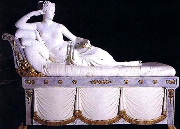 ボルゲーゼ美術館 ローマ カノーヴァ