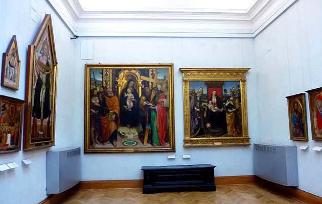 カピトリーニ美術館のカピトリーナ絵画館 ローマ
