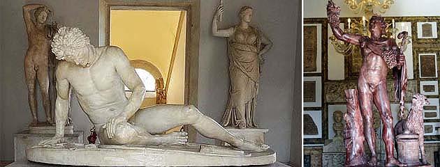 カピトリーニ美術館の新宮 ローマ