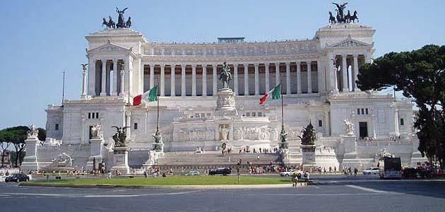 ヴィットーリオ・エマヌエーレ2世記念堂 ローマ