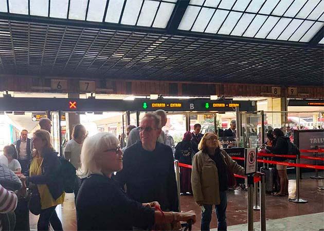 フィレンツェSMN駅の列車の乗り方