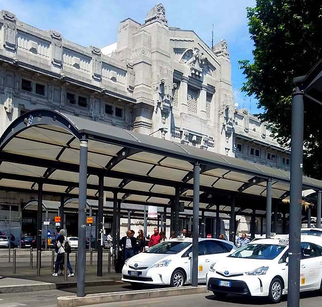 ミラノ中央駅周辺の交通機関・アクセス