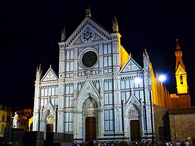 サンタ・クローチェ聖堂・フィレンツェ