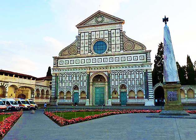 サンタ・マリア・ノヴェッラ教会・フィレンツェ