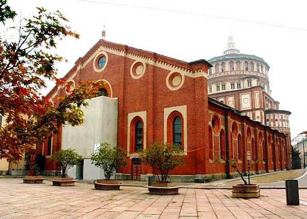 サンタ・マリア・デッレ・グラツィエ教会・ミラノ