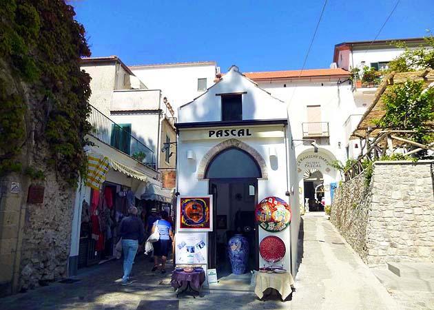 ラヴェッロ・街並み・南イタリア