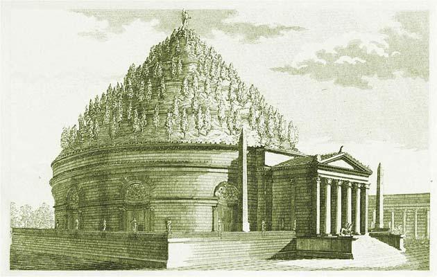 アウグストゥス霊廟・ローマ