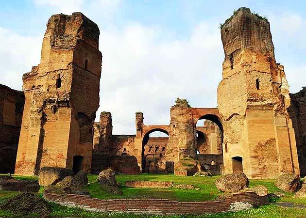 カラカラ浴場・ローマ