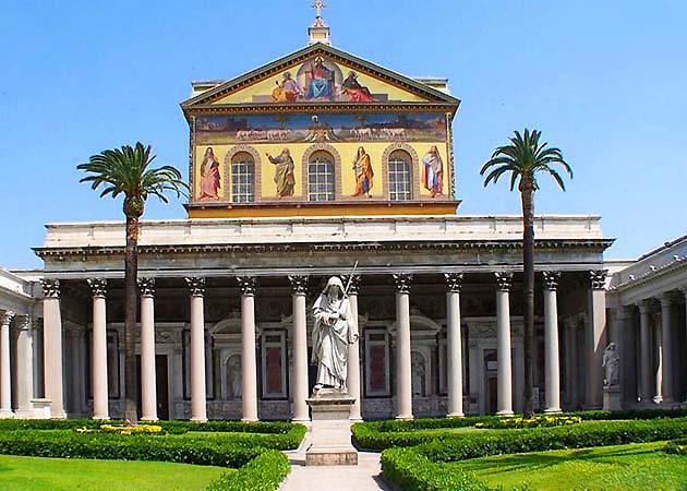 サン・パオロ・フオーリ・レ・ムーラ大聖堂・ローマ