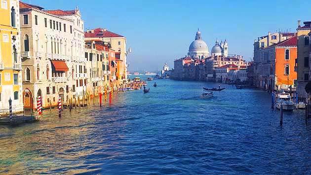 カナル・グランデの建築群・ヴェネツィア