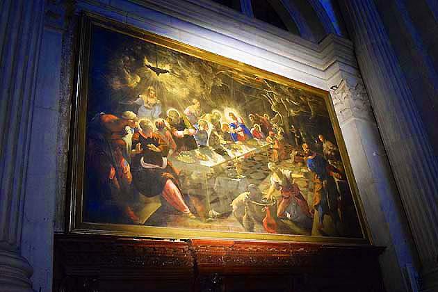 サン・ジョルジョ・マッジョーレ聖堂・ヴェネツィア