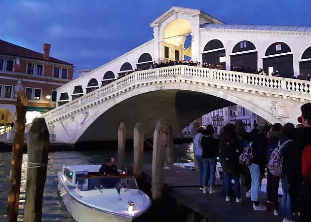 リアルト橋・ヴェネツィア