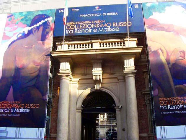 ブレラ美術館の見どころとアクセス ミラノ