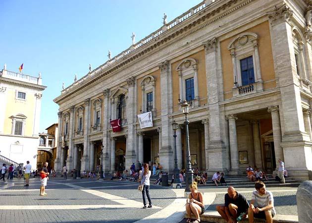 カピトリーノ美術館 ローマ