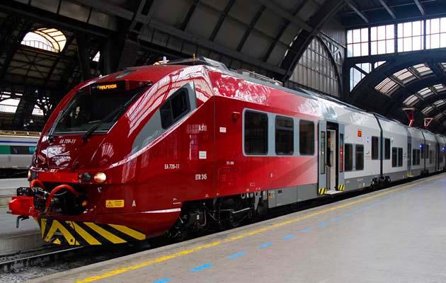 マルペンサ空港からミラノ市内のアクセス列車マルペンサ・エクスプレス
